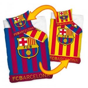 FC BARCELONA Oboustranné ložní povlečení na dětskou postel