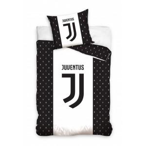 Černo bíle dětské ložní fotbalové povlečení Juventus
