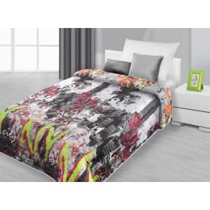 Přehoz na postel, přehoz na postel s motivem města New York