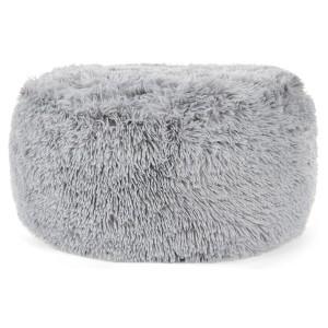 Pohodlné nafukovací taburetky šedé barvy