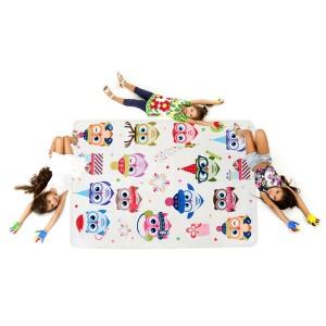 Kvalitní koberec do dětského pokoje s motivem soviček
