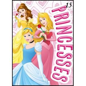 Růžová deka pro dívky s princeznami