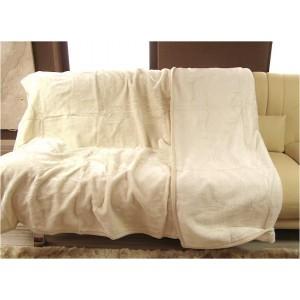 Luxusní deky z akrylu 160 x 210cm bežová č.7