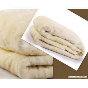 Luxusní deky z akrylu 160 x 210cm biela č.8