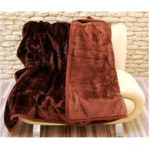 Luxusní deky z akrylu 200 x 240cm medvedí hnedá č.6