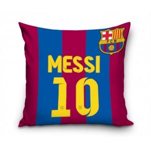 Fotbalový FCB povlak na polštář s motivem dresu MESSI 10