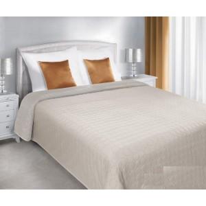 Béžové oboustranné přehozy na postel