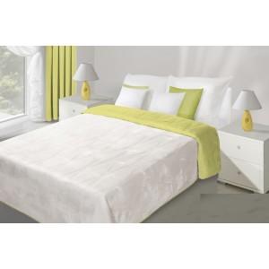Krémově limetkové přehozy na postel