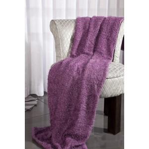 Přehozy na gauč fialové barvy