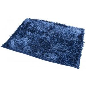 Koupelnové koberečky v modré barvě