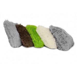 Dekorační chlupaté povlaky na polštář