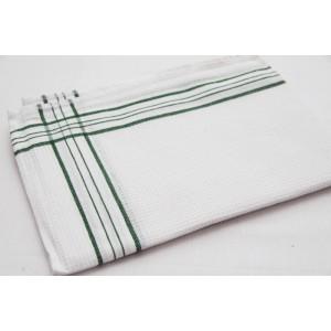 Kuchyňské utěrky na nádobí v bílé barvě