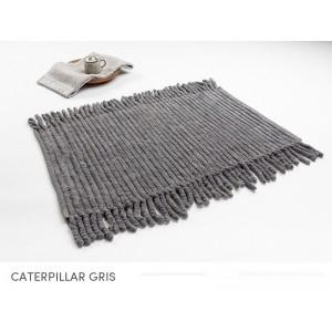 Bavlněné šedé koupelnové koberečky