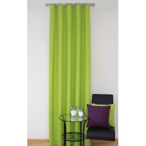 Zelený hotový závěs do ložnice