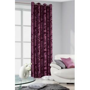 Elegantní hotové závěsy do pokoje fialové barvy vintage