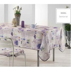 Ubrus na kuchyňský stůl s motivem levandule