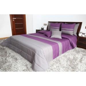 Fialové přehozy na postel