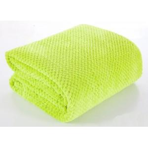 Zelené deky a přikrývky na postel 220x240 cm
