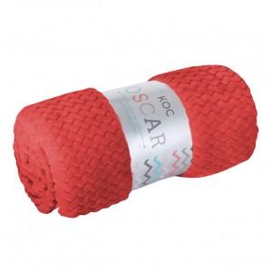 Červené deky do obýváku