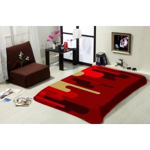 Bordó deka na postel