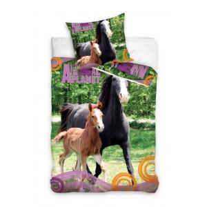 Koně ložní povlečení pro děti