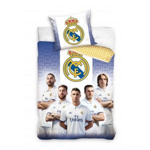 Bílé ložní povlečení Real Madrid