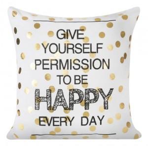 Happy dekorační povlak na polštář