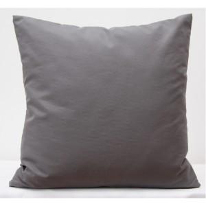 Dekorační povlaky na polštáře v šedé barvě