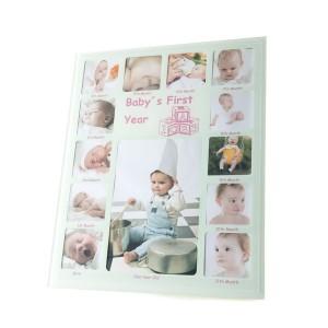 Dětský multirámik s fotkou na každý měsíc