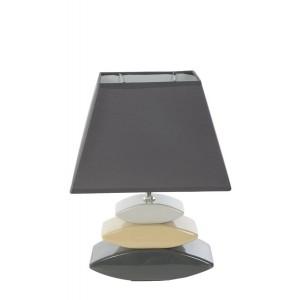 Tmavě šedé stolní lampy do ložnice