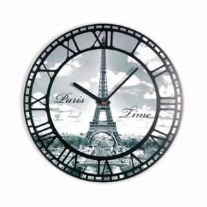 Eiffelova věž hodiny na stěnu