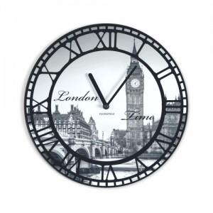 Vintage nástěnné hodiny motiv Londýn