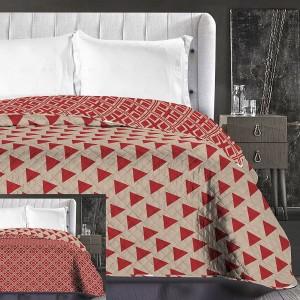 Luxusní béžové přehozy na postel oboustranné