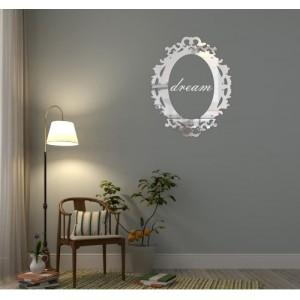 Luxusní zrcadlo s nápisem dream