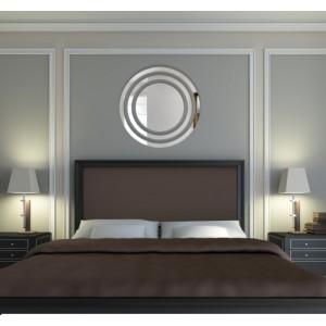 Kulaté dekorační zrcadlo v moderním designu