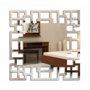 Nalepovací čtvercové hodiny labyrint