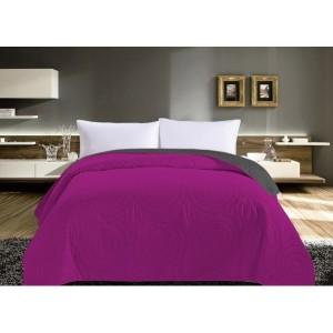 Kvalitní růžové přehozy na manželskou postel
