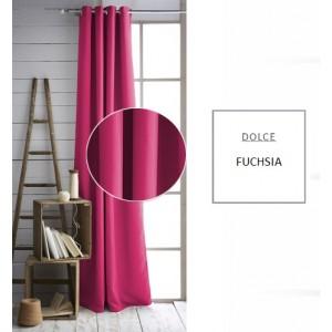 Moderní závěs růžové barvy