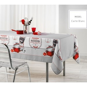 Moderní kuchyňský ubrus šedé barvy