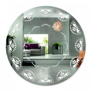 Designové zrcadlo s ornamenty