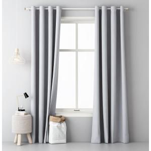Interiérový závěs v světle šedé barvě