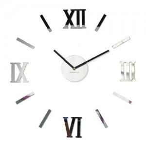 Moderní dekorační hodiny zrcadlo