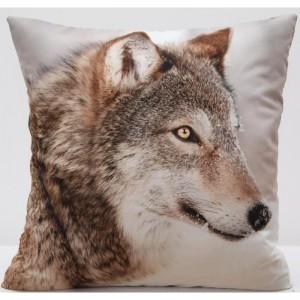 Kvalitní povlak na polštář s motivem Vlka