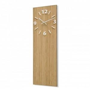 Nástěnné hodiny z bambusového dřeva