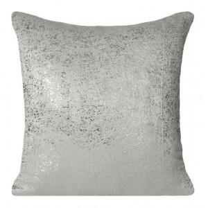 Ozdobní povlečení na polštář v šedé barvě