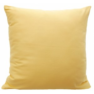 Povlečení na polštář ve žluté barvě