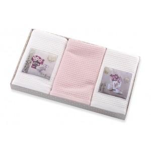 Kuchyňské ručníky bílé barvy