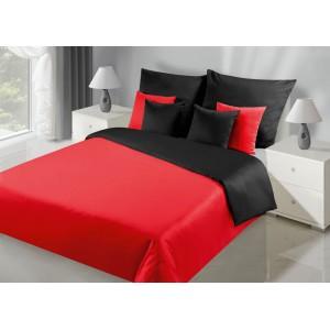 Nádherné oboustranné povlečení v červeno černé barvě