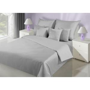 Elegantní oboustranné ložní prádlo šedé barvy
