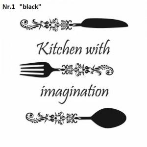 Dekorační nástěnné samolepky do kuchyně